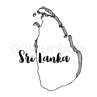 Highly detailed vector map Sri Lanka ... | Stock Vector | Colourbox
