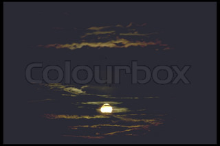 Image of 'dark, cloud, twilight'