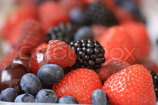forest fruits as very nice natural background
