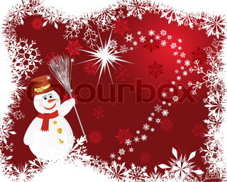 Beautiful vector Christmas New Year background for design use