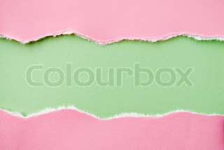 background paper of red and green