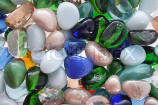 color glass stones as very nice abstract background