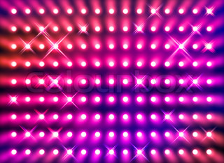 Sparkling red spotlight wall background