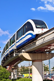 The Moscow monorail transport system