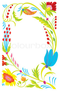 Background Design of a beautiful flower pattern
