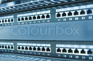 network hub without patch cables