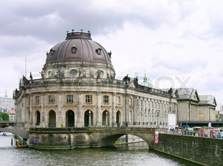 Bode- Museum, Museumsinsel in Berlin , Deutschland