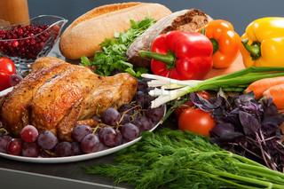 geröstete Urlaub Türkei mit Sauerteig Füllung und Früchten garniert