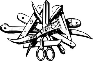 Vector of 'stylized, scissors, cartoon'