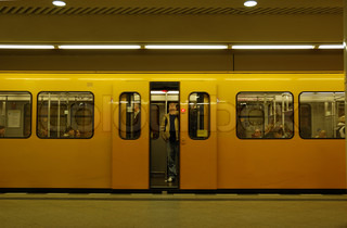 Metro -Station in Berlin