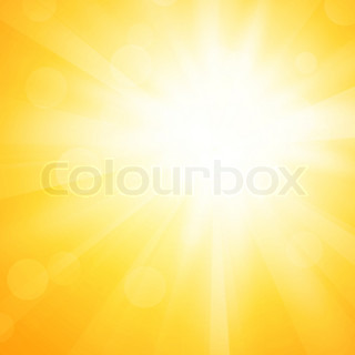 yellow sun background