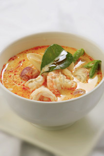 Thai traditionel Tom Yum Kung suppe