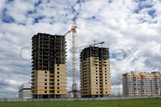 Construction of new residential buildings