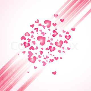 Abstract pattern heart backgroundvector texture Valentine day illustration Graphic art wallpaper eps10