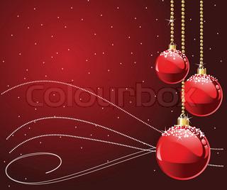 Røde farver Jul og nytår Bordkort