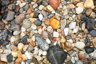 very nice color stones background in the rain