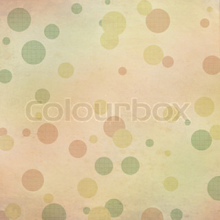 Autumn dots textured background in pastel colors