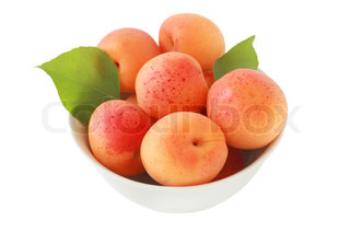 apricot in bowl