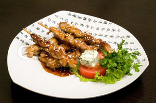 japanese oriental food, teriyaki
