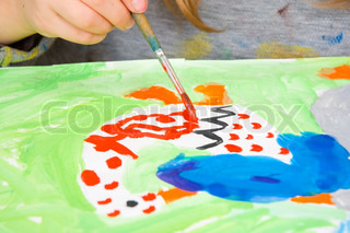 Image of 'creative, kid, paint'