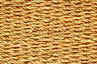 High definition shot of wicker texture close-up