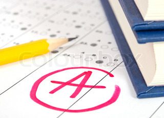 School and Education Test paper with result
