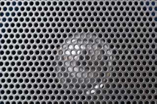 grille background texture macro
