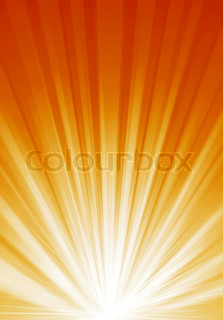 Abstract background with bright colour light