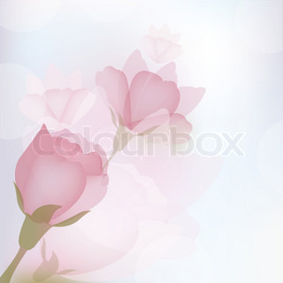 Flower baggrund , Vector Illustration