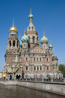 Church of the Savior on Spilled Blood, Saint-Petersburg