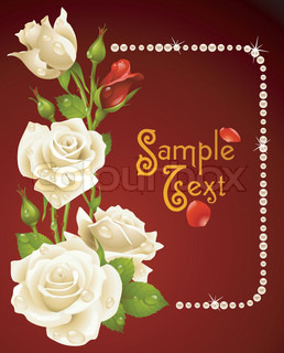 Vector of 'frame, wallpaper, wedding'