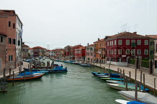 views of the island of Murano, Italy