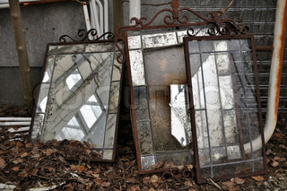 old mirrors