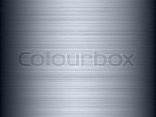 Abstract generated shiny brushed metal plate background