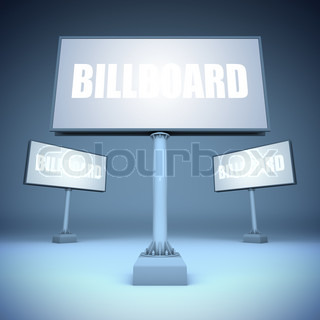 Blank template billboards
