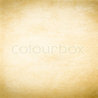 texture of old yellow paper as background