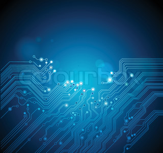 circuit board abstract technology background