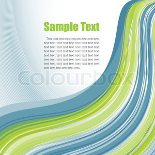 Abstract template. Vector