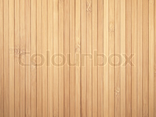 Background made of vertical yellow bamboo laths