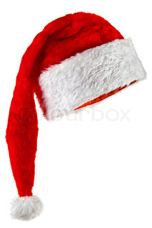 Santa Claus hat with a long crown