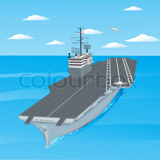 planes taking off from the deck of an aircraft carrier in the ocean. Black Bedroom Furniture Sets. Home Design Ideas