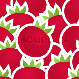 Fresh red tomatoes seamless background