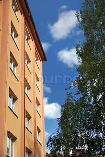 Block of flats - apartment building