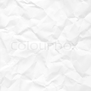 Paper crumpled seamless texture vector office background