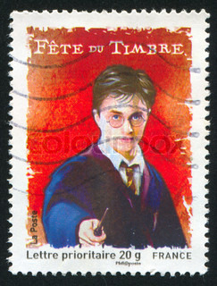 FRANCE - CIRCA 2007: stamp printed by France, shows Harry Potter, circa 2007