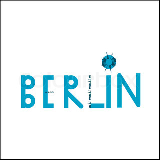 Berlin logo illustration