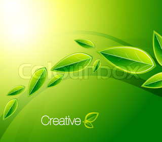 Nature creative background