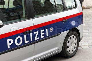 Police car from Austria
