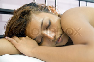 Woman sleep