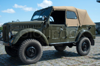 The Soviet military jeep